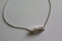 Le Collier Perle Strass